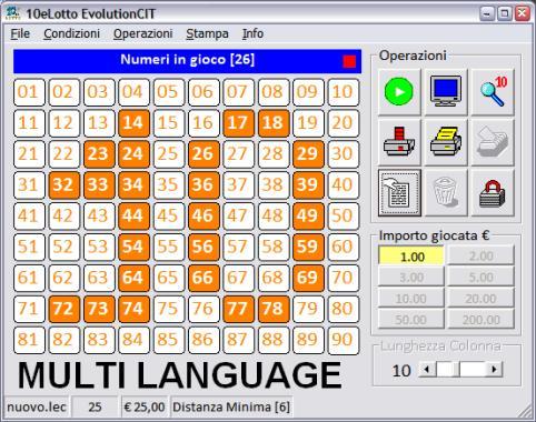 sistema estrazione lotto